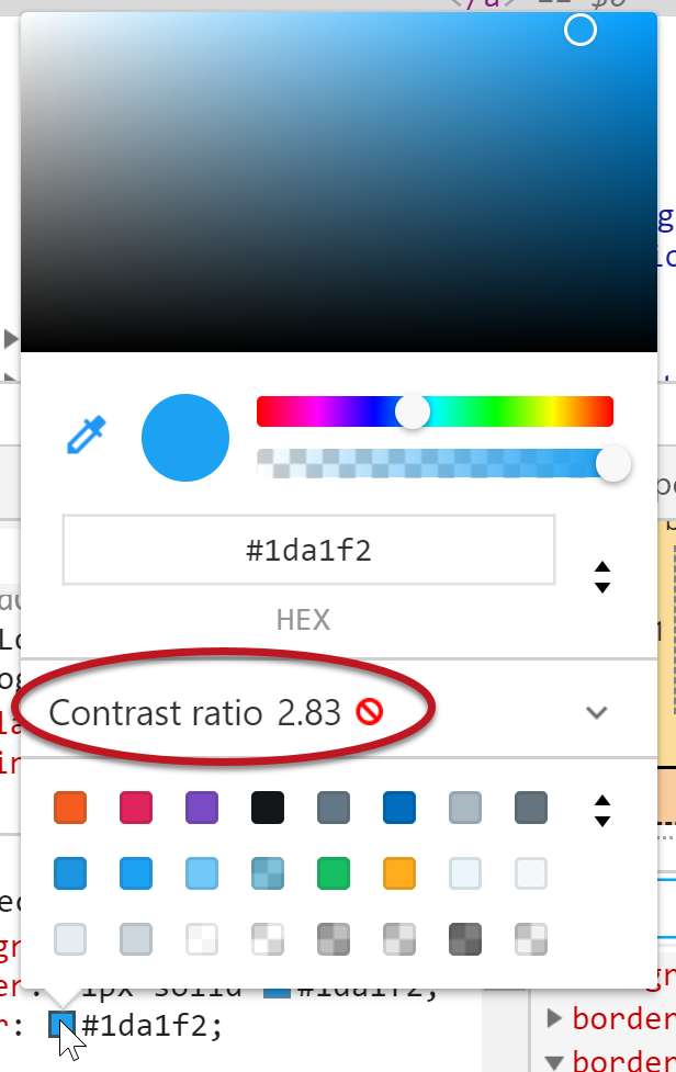 WebAIM: Contrast and Color Accessibility - Evaluating