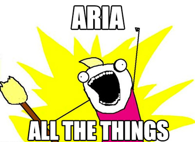 Meme: ARIA all the things!