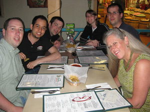 The WebAIM Team at CSUN - Jared, Dio, Aaron, Kim, Jon, and Cyndi