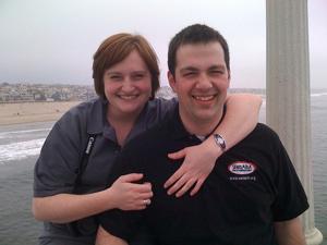 Stefanie Walker and Aaron Andersen