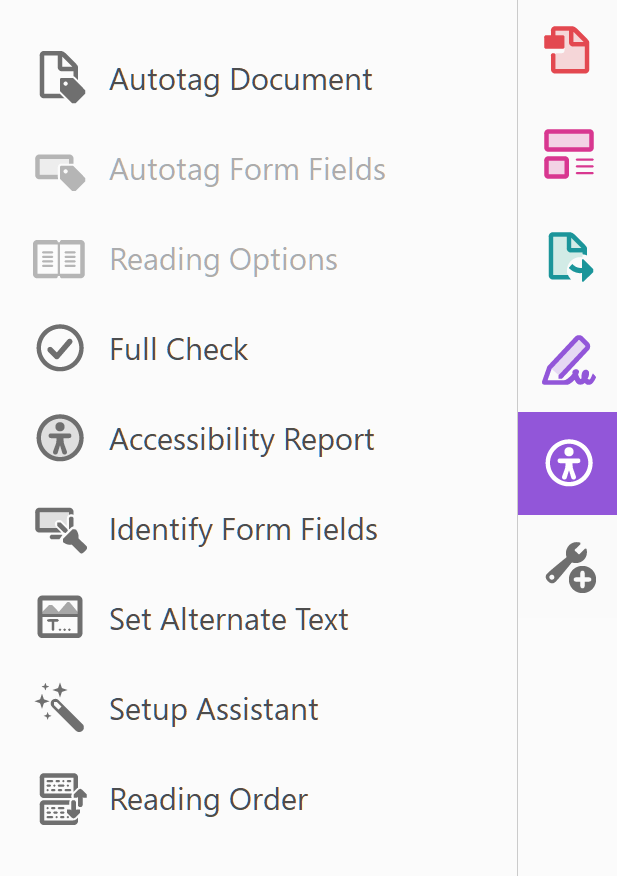 WebAIM: PDF Accessibility - Acrobat and Accessibility