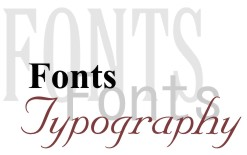 Fonts Are The Style Of Type Face Used To Display Text Numbers Characters And Other Glyphs As They Often Called In Typography Industry
