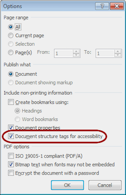webaim word 2010 for windows creating accessible documents
