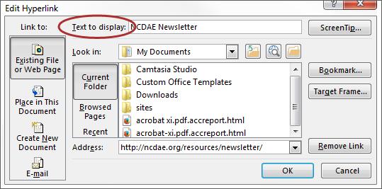 WebAIM: Microsoft Word 2013 for Windows - Creating Accessible Documents